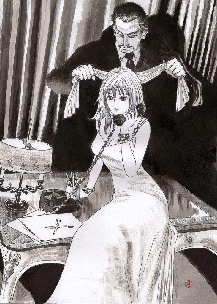 La dama in pericolo - insegnante di manga