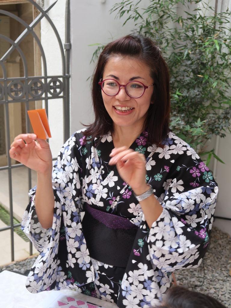 Lezione Origami Hagakure