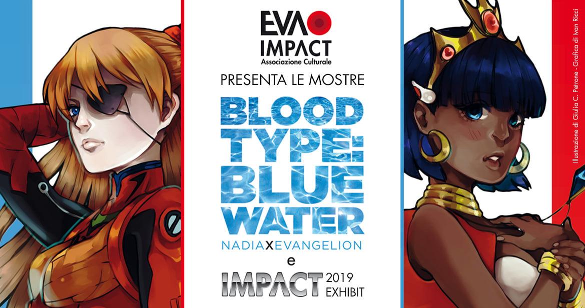 BLOOD TYPE BLUE WATER EXHIBIT